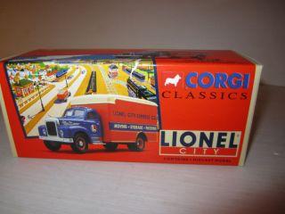 Corgi 1 50 Lionel City B Mack Truck w Dry Goods Van