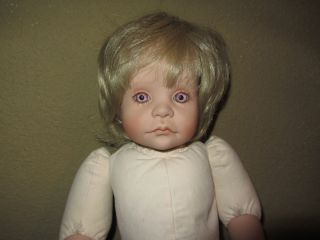 RARE Lloyd Middleton Royal Vienna Collection weeping Marci Cohen Doll