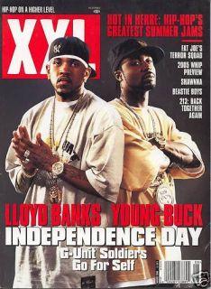 XXL Magazine Lloyd Banks Young Buck August 2004