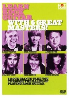 Learn Rock Guitar with 6 Great Masters Hot Licks DVD HOT702 Roth