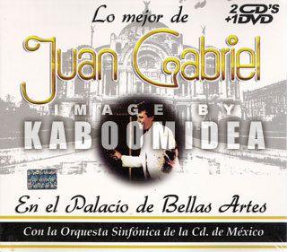 Juan Gabriel Lo Mejor CD DVD Exitos Orquesta Sinfonica de Mexico