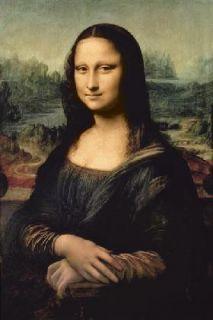 Leonardo DaVincis Classic Mona Lisa Art Poster Print