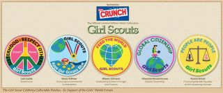 Girl Scout Patches by Lisa Leslie Shawn Johnson Dana Vollmer More