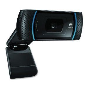 Logitech 960 000597 Full HD 1080p Webcam C910 With Dual Mics USB 2 0