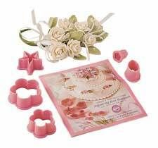 Paste Tools Calla Lily Cutter Embosser Smoother Rose Bouquet