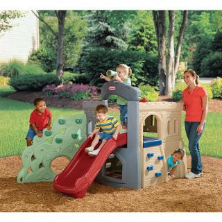 Little Tikes Endless Adventures Rock Climber and Slide zTS