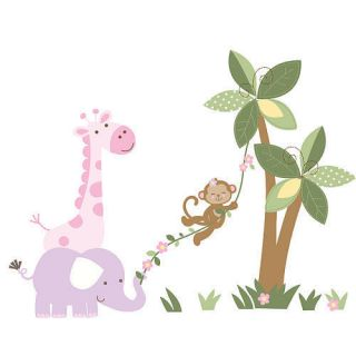 Little Boutique Jungle Girl Large Wall Decal