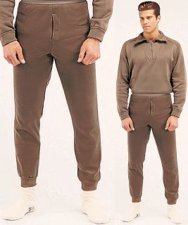 Polypropylene Brown Underwear Long John Thermal Bottom Pants