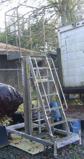 Ballymore BL 315 Hydraulic Hand Pump Portable Platform Lift Ladder w