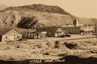 VTG LITTLE LAKE CALIFORNIA HISTORIC PHOTO POSTCARD STANDARD OIL GAS