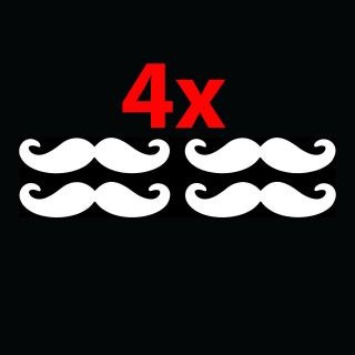 Sticker Funny Car Window Vinyl Decal LOL Joke Stache Gift JDM