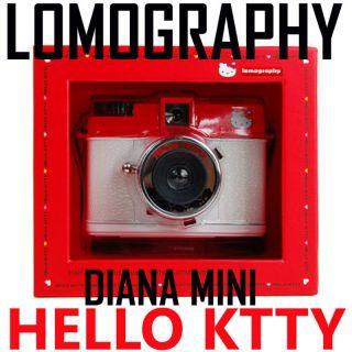 Lomography Diana Mini Hello Kitty LOMO 35mm Film Camera
