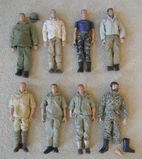 GI Joe Johnny West Lone Ranger Sir Gordon Action Figures w Accessories