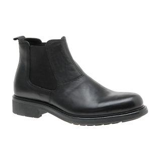 Aldo Mens Longfellow Black Leather Boots 125 Sz 44D 11M Versatile SOLD