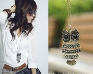 Women Vintage Pendant Long Chain Necklace Fashion Jewellery Gift More
