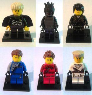 Lego Ninjago Minifigures Jay Cole Zane Kai Lord Lloyd Garmadon