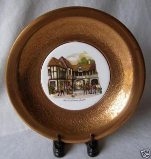 Lord Nelson Pottery England Old Coach House Wall Plate