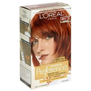 Loreal Preference Hair Color RR 07 Intense Red Copper
