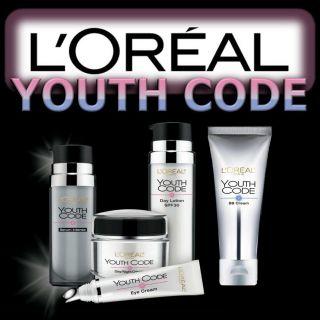 Oreal Youth Code Serum Intense Eye Cream Day Night Cream or Day