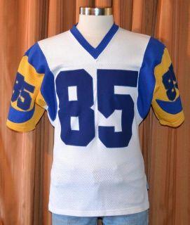 LOS ANGELES RAMS JACK YOUNGBLOOD #85 RAVENS KNIT VINTAGE JERSEY MENS