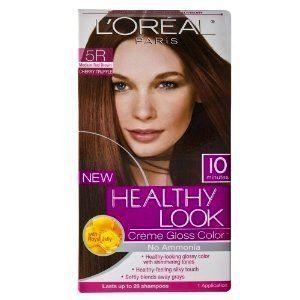 Loreal Paris Healthy Look 5R Medium Red Brown Hair Color