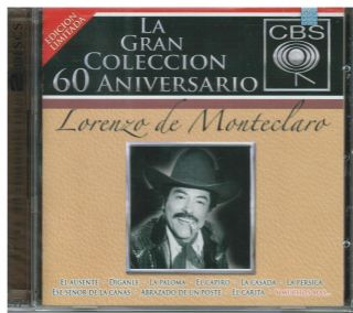 Lorenzo de Monteclaro CD New La Gran Coleccion Album 2 CDs Con 40
