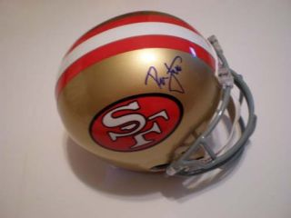 Ronnie Lott Signed San Francisco 49ers Full Size Helmet