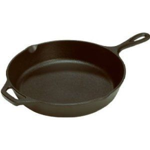 Lodge Logic L8SK3 10 25 Pre Seasoned Cast Iron Skillet Pan Cookware