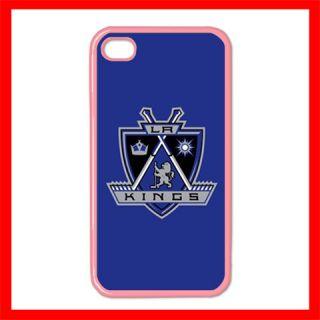 Los Angeles Kings Hockey Apple iPhone 4 4S Hard Case Pink FF1250