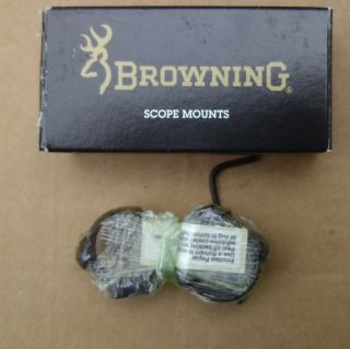 Browning High Luster Scope Mount Rings 9117 New in Box
