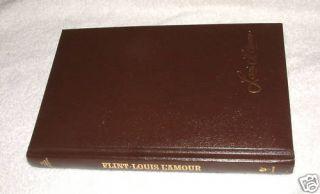 Flint by Louis LAmour Hardcover Bantam Books 1981
