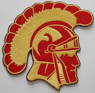 USC Trojans University NCAA College Mascot Logo Patch