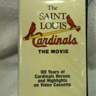 Saint Louis Cardinals The Movie VHS