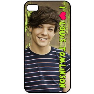 One Direction 1D I Love Louis Tomlinson iPhone 4 4S Back Hard Case