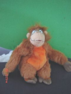 King Louie Jungle Book Walt Disney Plush Monkey Ape