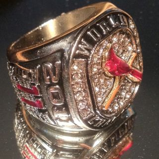 St Louis Cardinals 2011 World Series Champions Championship Replica