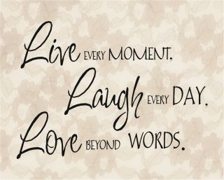 Live Laugh Love Quote Print Home Picture Decor Lace Buy 1 Get 1 Free