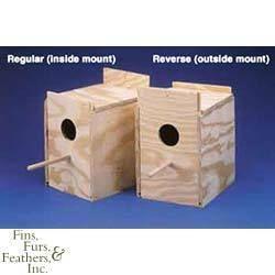 Ware Manufacturing Ware Wood Nesting Box Lovebird Reve