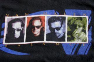 Shirt Concert Van Halen Balance 95 96 Tour 1996 1995