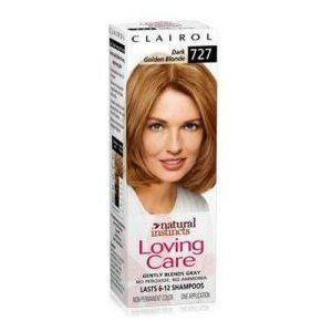 Clairol Natural Instincts Loving Care Color 727 Dark Golden Blonde
