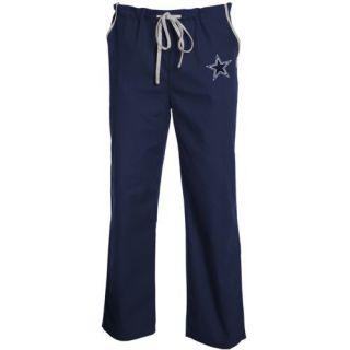 Dallas Cowboys Unisex Solid Scrub Pants Navy Blue