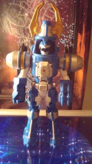 Power Rangers Operation Overdrive Blue Turbo Drill Loos