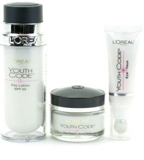 LOreal Youth Code Bundle Lot of Eye Cream Day Night Cream Day Lotion