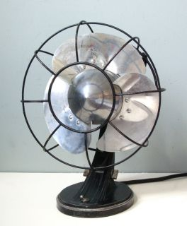 Art Deco Bullet Fan General Electric Lowey Eames Era