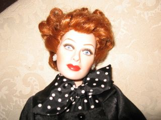 Love Lucy 50th Anniversary Vintage Porcelain Doll Retired