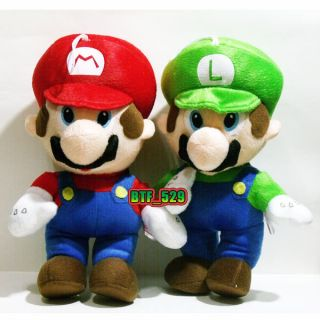 New Super Mario 12 Mario and Luigi Plush Figure Toy