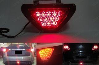 F1 style 12 LED Tail Brake Stop Light Third Red Flashing Blinker