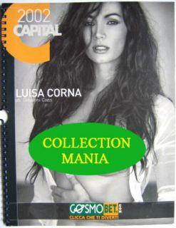 Calendar Sexy Luisa Corna Nude Calendario Capital 2002