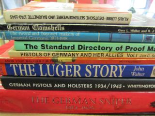 Books German WWII Luger K98 Sniper Bayonet P38 Sword Holster