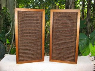 Rare LWE Louis Erath Acoustron VI Loudspeaker bookshelf Speakers 19x10